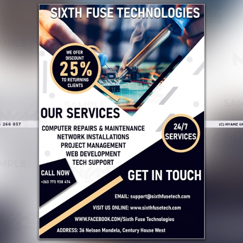 6th fuse flyer